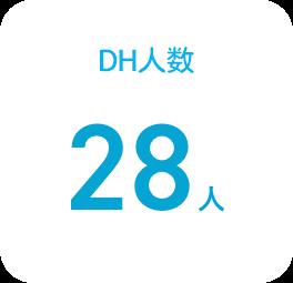 DH人数 22人